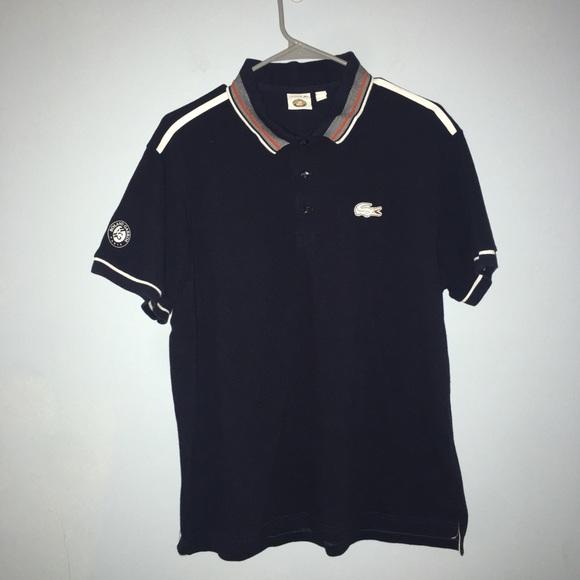 ebb1680fb Lacoste Shirts   Roland Garros Paris Mens Polo Shirt   Poshmark